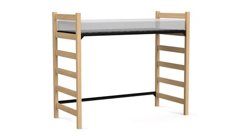 adjustable bed full height loft blockhouse contract