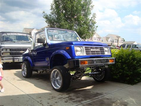 Suzuki Samurai Lowrider Ghostthunder 1988 Suzuki Samurai S Photo Gallery At Cardomain