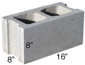 concrete block calculator find the number of blocks home styles concrete amp cement home style