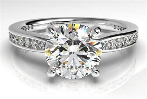 what is a channel set engagement ring ritani