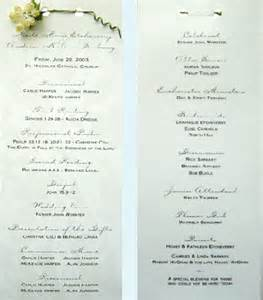 Aller 224 programs wedding programs wedding program 1 the