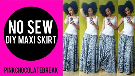 Turkey Maxi 2 no sew diy circle maxi skirt 3min turkey inspired 2 set part 1