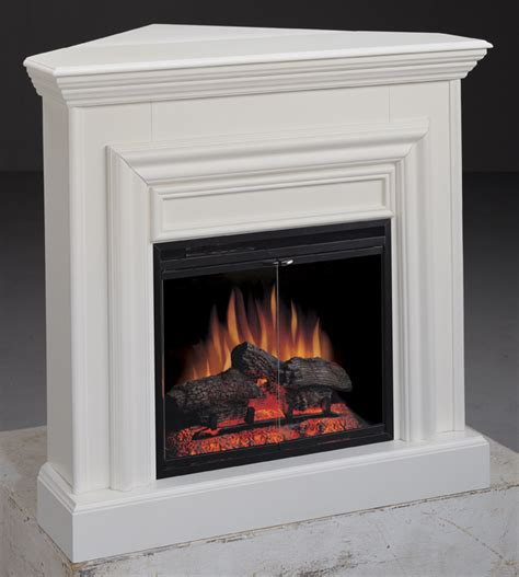 White Electric Corner Fireplace by Amherst Corner White Electric Fireplace 23 Inch Classic