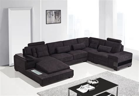 Sectional Sofas Modern Fabric Sectional Sofa