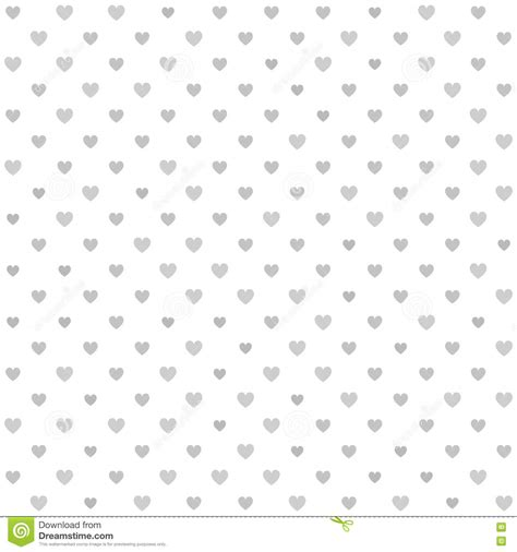 vector background pattern gray heart pattern seamless gray and white vector background