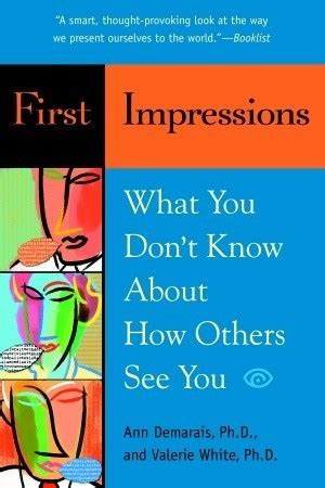 what do you about you books impressions what you don t about how others