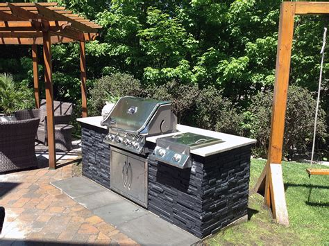 custom backyard bbq ottawa outdoor kitchens custom backyards by synergy3