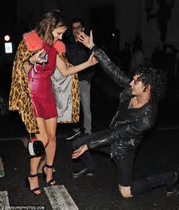 george sson get up on the floor lyrics caroline flack and dianna agron avoid run in as they