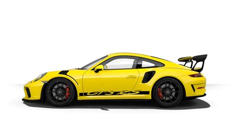 porsche gt3 rs yellow 2019 porsche 911 gt3 rs color options