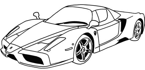 coloring page sports cars deluxe ferrari sport car coloring page ferrari car