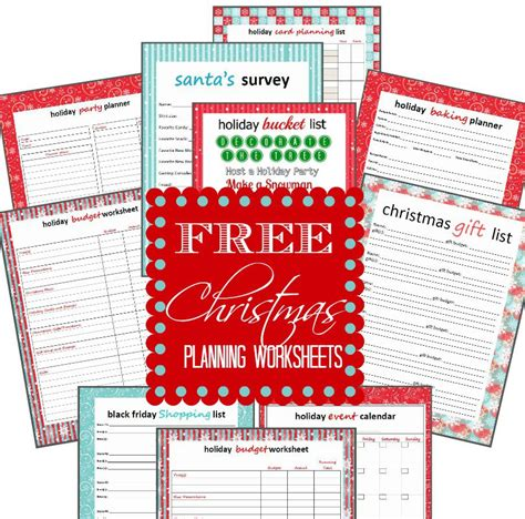 free printable holiday planner 2015 7 best images of free printable christmas planner pages