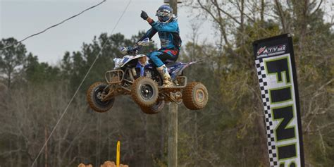 ama atv motocross schedule defending chion chad wienen wins first race of 2015 at