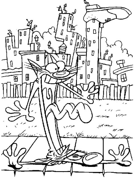 catdog coloring pages coloringpages1001 com