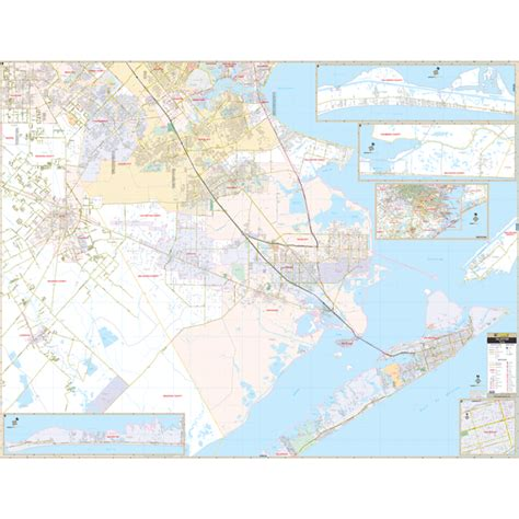 galveston map galveston tx zip code map images