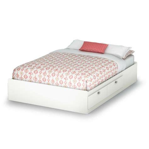 modern platform bed with storage drawers full size modern platform bed with 4 storage drawers