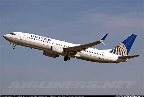 united airline sign in boeing 737 824 united airlines aviation photo 2691056 airliners net