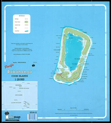 cook islands map maps of the cook islands cartes des iles cook