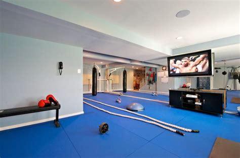 home fitnessräume eigenes fitnessstudio zu hause einrichten freshouse
