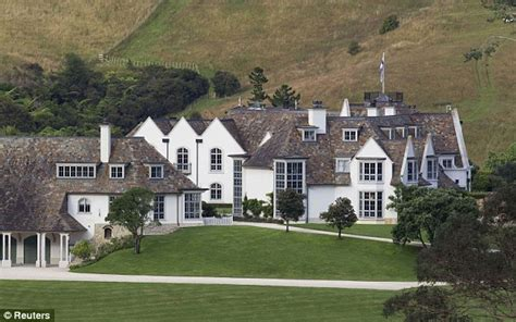 Wedding Cake House Paritai Drive by Megaupload Founder Dotcom S Mansion In New Zealand