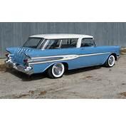 Hooniverse Wagon Wednesday A 1957 Pontiac Safari 2 Door