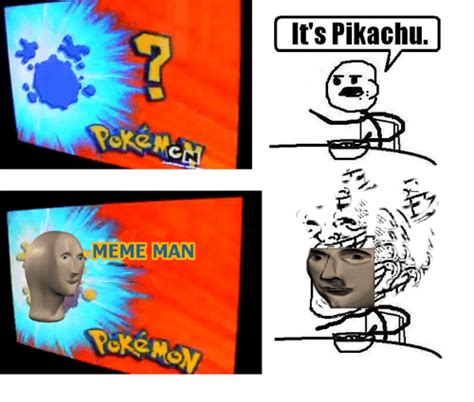 Know Your Meme Troll - meme man it s pikachu meme on sizzle
