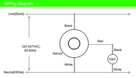 ceiling mount occupancy sensor wiring diagram 45 wiring