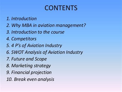Mba In Aviation by Marketing Management Ppt