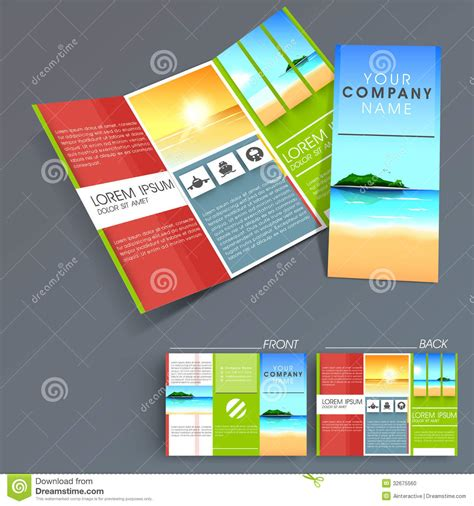 professional brochure design templates 4 best agenda