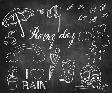 free doodle overlays rainy day doodle chalkboard overlays