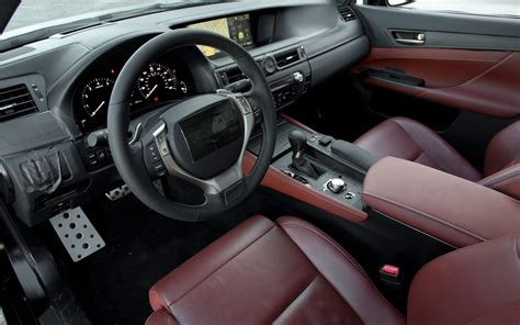 lexus sport car interior all new 2012 lexus gs interior spy pictures autotribute