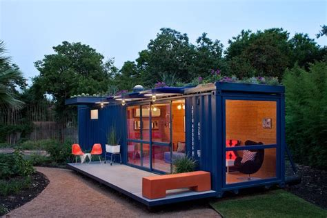 The Green Door San Antonio by Low Impact Container Studio In Recycled Green
