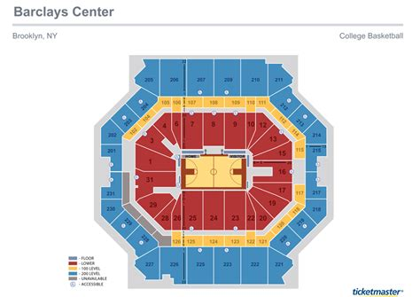 barclays center floor plan barclays center brooklyn best seat locations seating chart