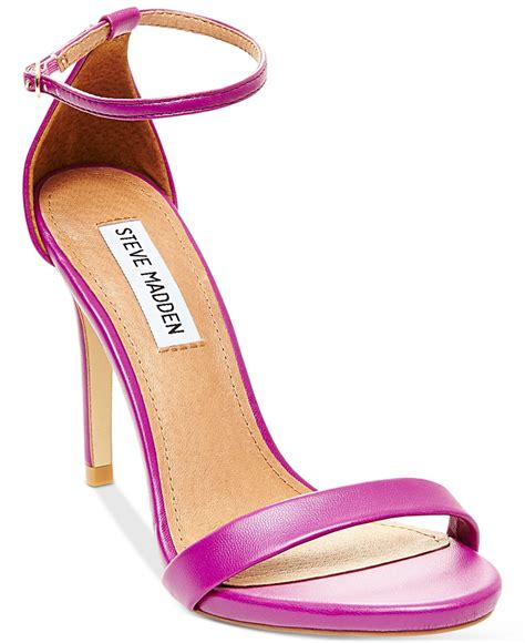 steve madden purple sandals steve madden s stecy two sandals in purple lyst