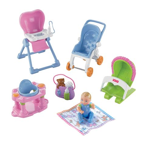 Fisher Price Loving Family Everything Loving Family Deluxe Everything For Baby Room Toys