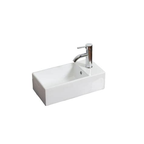 small rectangular vessel sink small rectangle white bar sink with single and an
