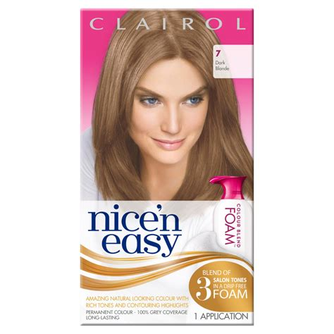 amazon com clairol nice n easy foam hair color 4rb dark womens clairol nice n easy permanent colour blend foam