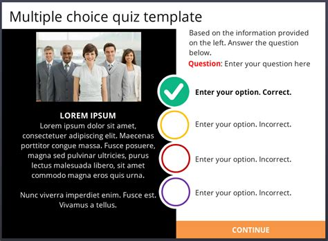 powerpoint template quiz multiple choice image collections free storyline 2 multiple choice quiz template building
