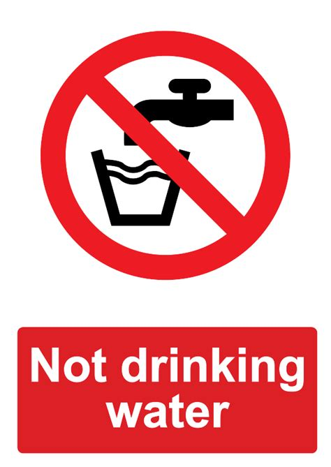 lalizas imo signs eating drinking area no drinking water sign gallery