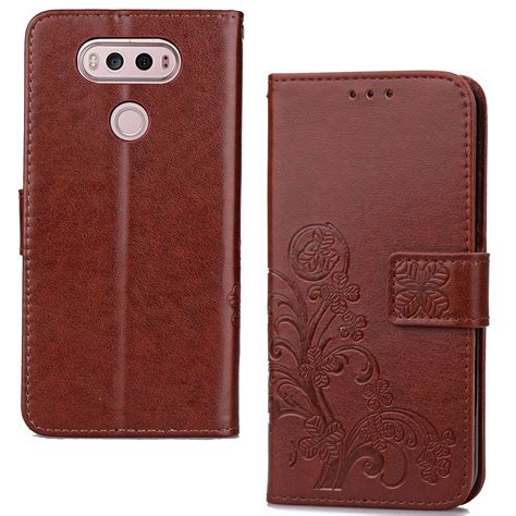 pattern for leather card wallet pattern pu leather wallet card slot stand strap cover for