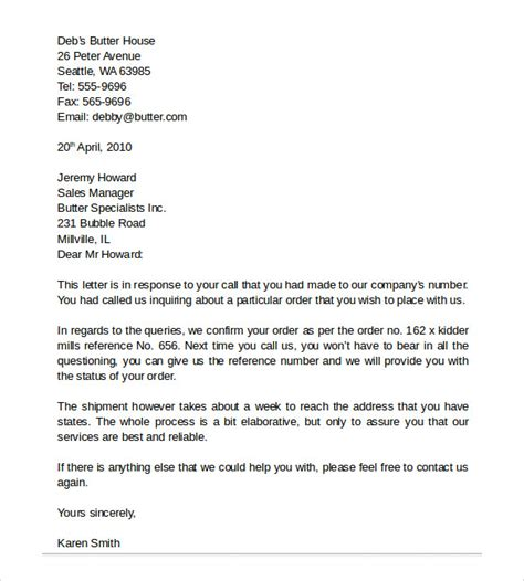 Business Letter Format To Your Business Letter Format 9 Free Sles Exles Format