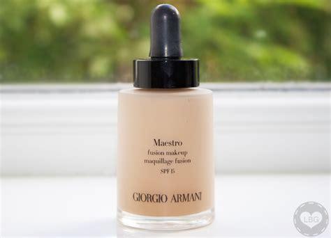 Foundation Giorgio Armani Giorgio Armani Maestro Fusion Makeup Review Swatches