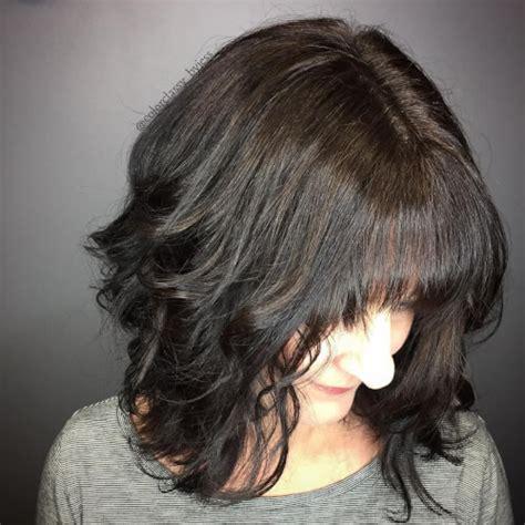 top   shoulder length hairstyles haircuts