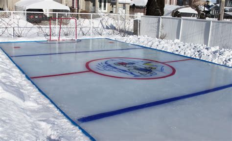 backyard rink kit backyard ice rink kit outdoor furniture design and ideas