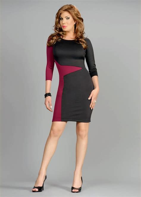 slimming colors slimming color block bodycon dress belt and colors