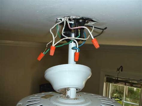 Installing Ceiling Fan With Light Installing A Ceiling Fan Without Existing Wiring Electricians Talklocal Talk Local