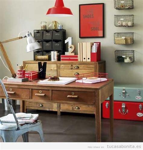 decoracion despacho casa ideas vintage para decorar la casa