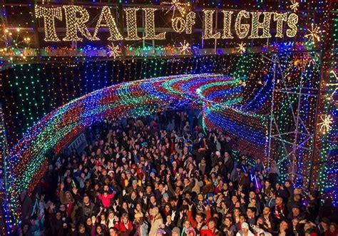 trail of lights parking trail of lights do512 family