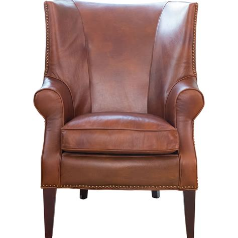leather wing back chair brayden leather wingback chair wayfair
