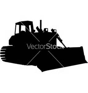 bulldozer silhouette bulldozer silhouette clipart cliparthut free clipart