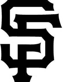 Sf Logo Giants Pumpkin Carving Stencil San Francisco Giants